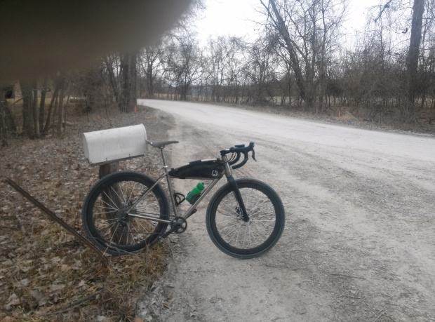 Frozen roads, frozen water bottles, frozen fingers