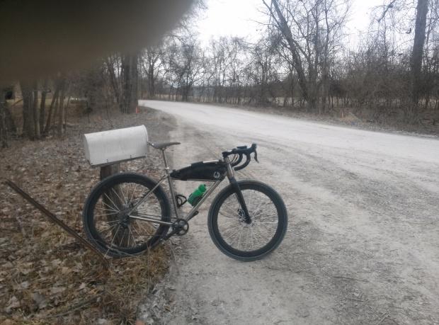 Frozen roads, frozen water bottles, frozen fingers